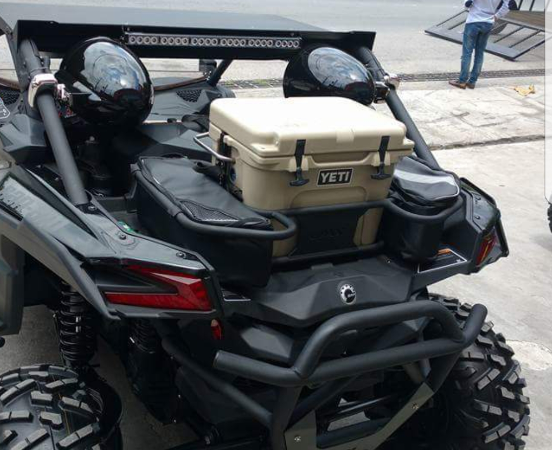 Can Am Maverick 1000 Turbo >> Rack for cooler (special size customer) Yeti & Bags DMX ...