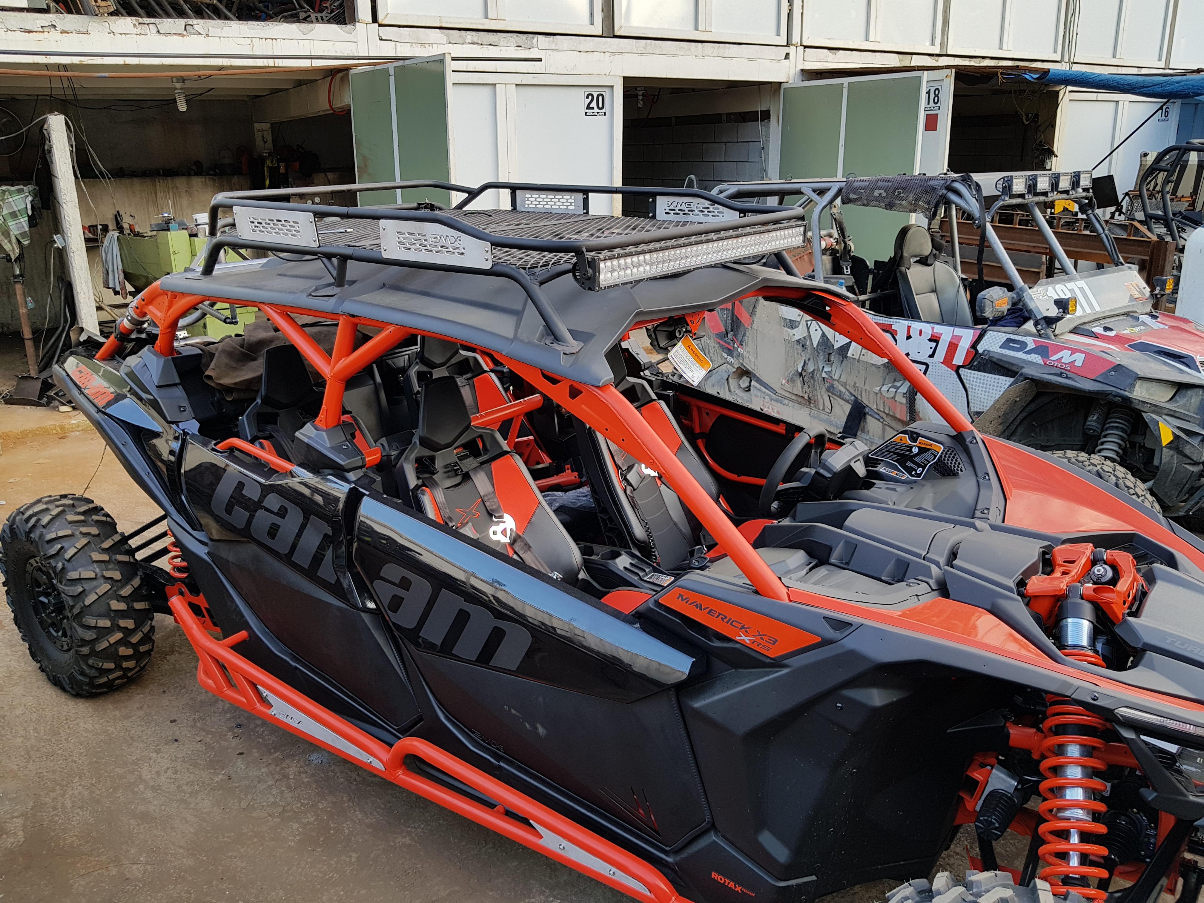 Can Am Max X3 Sport Roof Rack Dmx Performance Dmx